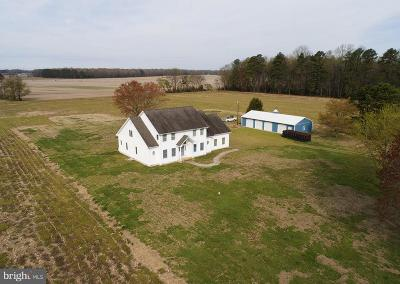 Denton Farm For Sale: 6320 American Corner Road