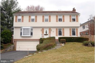 Bethesda Single Family Home For Sale: 8012 Thornley Court