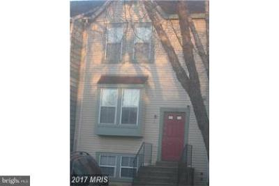 Beltsville Townhouse Active Under Contract: 3443 Cherry Hill Court