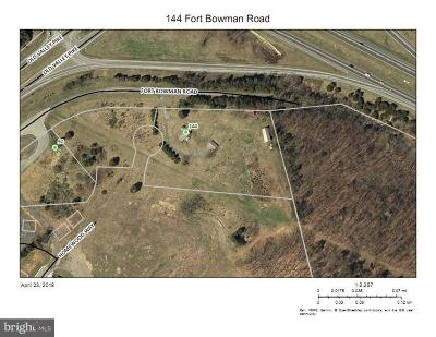 Strasburg Residential Lots & Land For Sale: 144 Fort Bowman Road