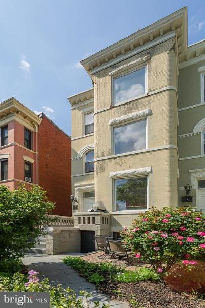 Washington Single Family Home For Sale: 1307 Irving Street NW #1
