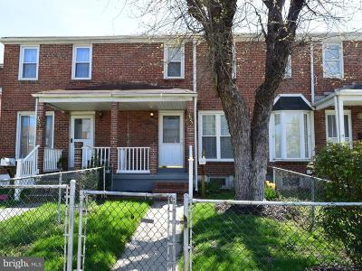 Baltimore MD Townhouse For Sale: $150,000