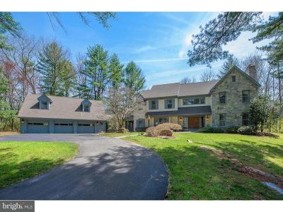 Newtown Square Single Family Home For Sale: 22 Old Covered Bridge Road