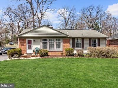 Pikesville Single Family Home Under Contract: 4118 Buckingham Road