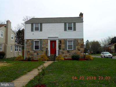 Pikesville Single Family Home For Sale: 7101 Deerfield Road
