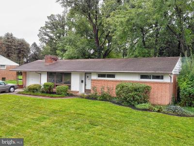 Single Family Home For Sale: 724 Manor Road