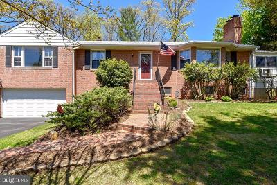 Alexandria Single Family Home For Sale: 6032 Old Telegraph Road