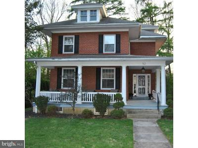 Wyomissing Single Family Home Under Contract: 52 Upland Road
