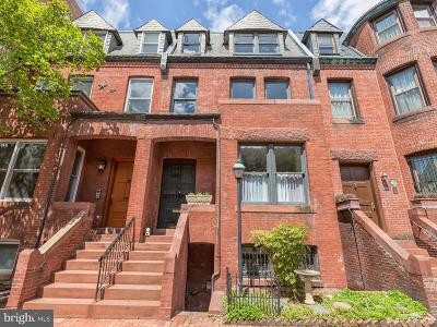 Dupont Townhouse For Sale: 1615 Riggs Place NW