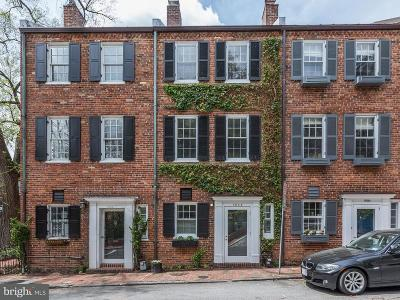Georgetown Townhouse For Sale: 1602 32nd Street NW