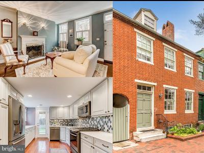 Baltimore City Townhouse For Sale: 110 Lee Street W