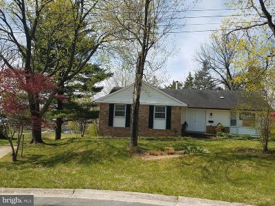 Potomac Single Family Home For Sale: 8602 Buckhannon Drive