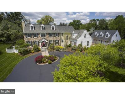 Bryn Mawr Single Family Home For Sale: 410 Boxwood Road