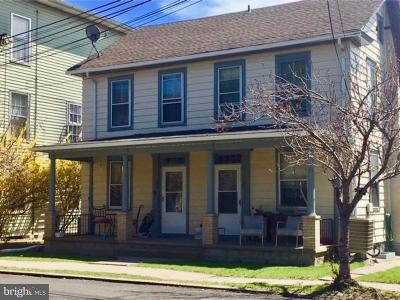 Bucks County Multi Family Home For Sale: 134 Delaware Road