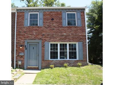 Bucks County Townhouse For Sale: 60 Providence Avenue