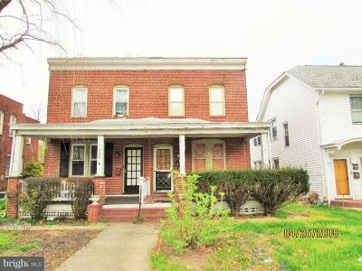 Dover Single Family Home Under Contract: 331 N Bradford Street