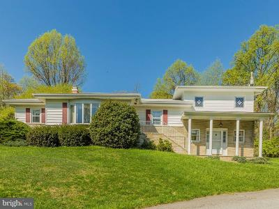 Thurmont Single Family Home For Sale: 14850 Sabillasville Road