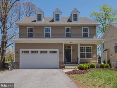 Cape St Claire Single Family Home For Sale: 1243 Pine Hill Drive