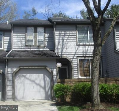 Howard County Townhouse For Sale: 5465 Vantage Point Road #17