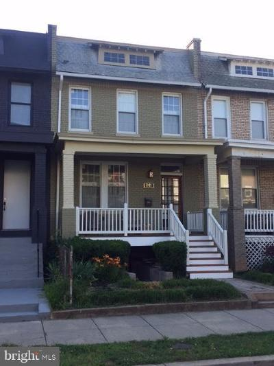 Washington Townhouse For Sale: 2423 3rd Street NE