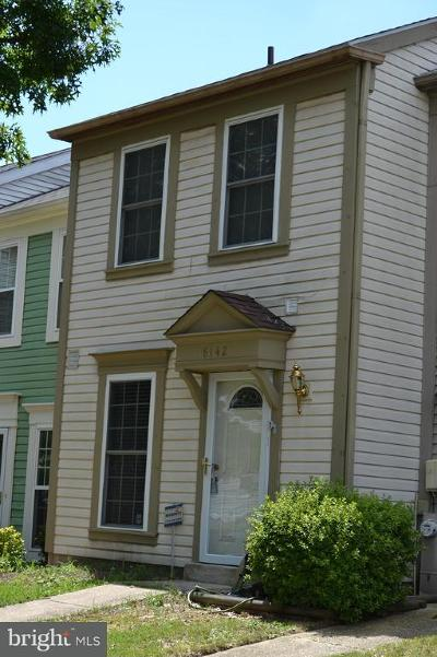 Anne Arundel County Townhouse For Sale: 8142 Cloverhurst Road