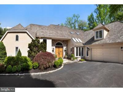 Gladwyne Single Family Home For Sale: 234 Maple Hill Road