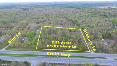 La Plata MD Residential Lots & Land For Sale: $199,000