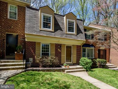 Bethesda Townhouse For Sale: 7344 Greentree Road