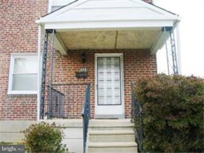 Yeadon Single Family Home For Sale: 824 Laurel Road