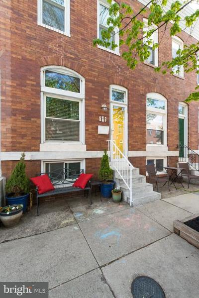 Baltimore Townhouse For Sale: 507 S Belnord Avenue