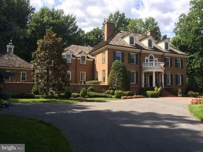 Bethesda MD Single Family Home For Sale: $3,995,000