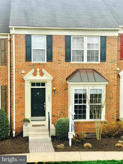 Perry Hall Townhouse For Sale: 5099 Cameo Terrace