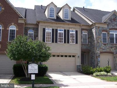 Leesburg Townhouse For Sale: 18309 Buccaneer Terrace