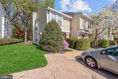 Annandale, Falls Church Townhouse For Sale: 3380 Lakeside View Drive #14-1