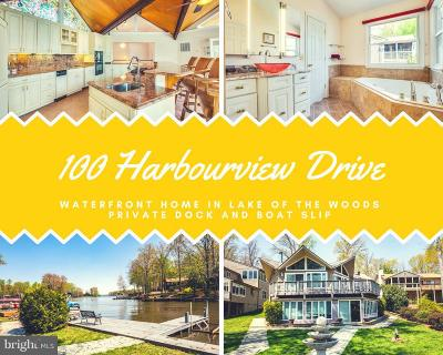 Lake Of The Woods Single Family Home For Sale: 100 Harbourview Drive