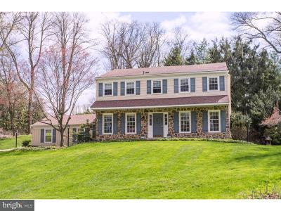 Newtown Square Single Family Home For Sale: 3408 Sawmill Road