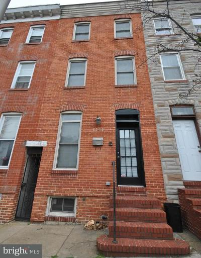 Baltimore Townhouse For Sale: 2208 Eastern Avenue
