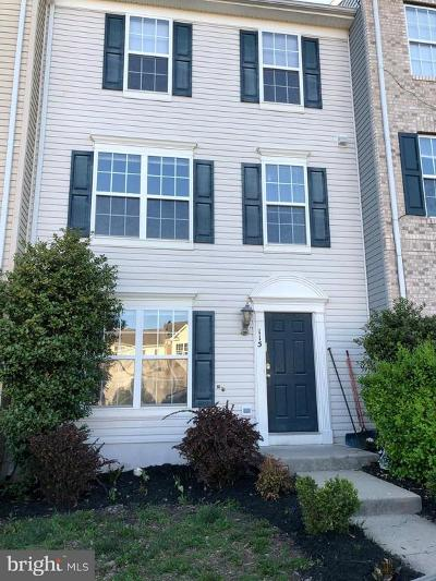 Townhouse For Sale: 115 Cavalry Court