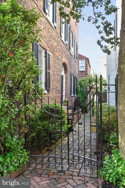 Old Town Townhouse For Sale: 109 Prince Street