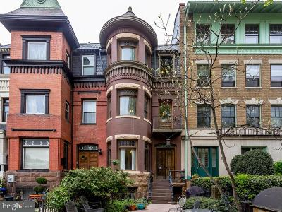 Dupont Multi Family Home For Sale: 1837 16th Street NW