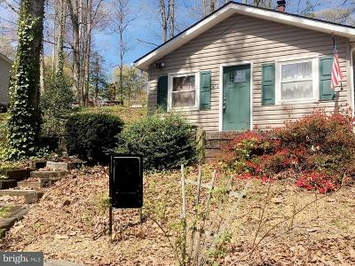 Lusby Single Family Home Active Under Contract: 11715 Big Bear Lane