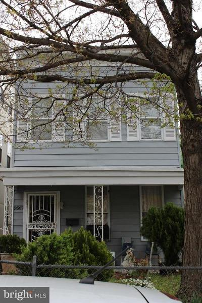 Washington Single Family Home For Sale: 3569 Warder Street NW