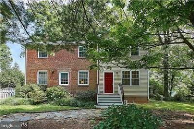 Falls Church VA Single Family Home Active Under Contract: $589,500