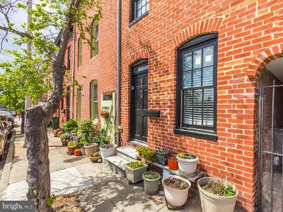 Fells Poi Nt, Fells Point, Fells Point/Hopkins, Fells Pt./Hopkins Townhouse For Sale: 2044 Fountain Street