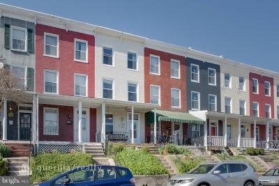 Hampden Townhouse For Sale: 716 34th Street