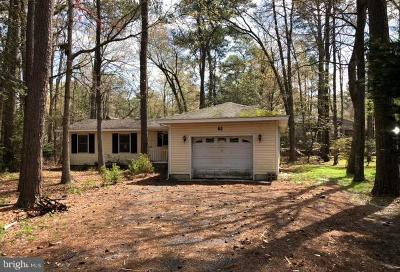 Somerset County, Wicomico County, Worcester County Single Family Home For Sale: 61 Moonraker Road