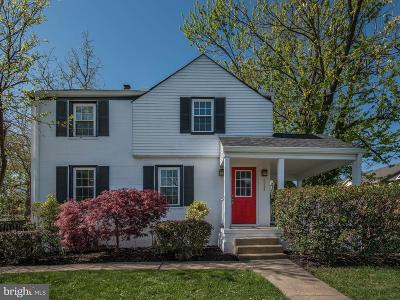 Falls Church Single Family Home For Sale: 6525 Westover Street