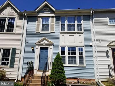 Fauquier County Townhouse For Sale: 752 Cherry Tree Lane