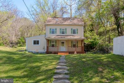 Ellicott City Single Family Home For Sale: 152 Frederick Road
