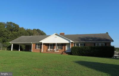 Rappahannock County Single Family Home For Sale: 76 Battle Mountain Road